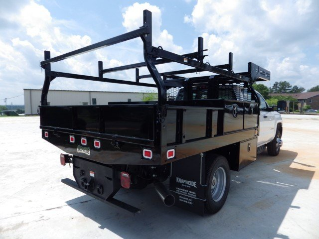 2019 Silverado 3500 Crew Cab DRW 4x4,  Knapheide Contractor Body #M248258 - photo 1