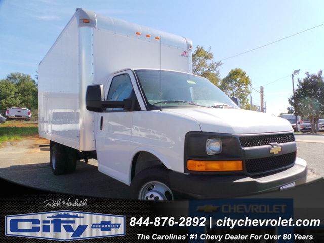 2015 Chevrolet Express 3500 4x2, Supreme Cutaway Van #CM05824A - photo 1