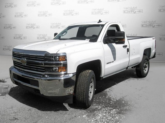 2017 Silverado 3500 Regular Cab 4x4 Pickup #M271670 - photo 9