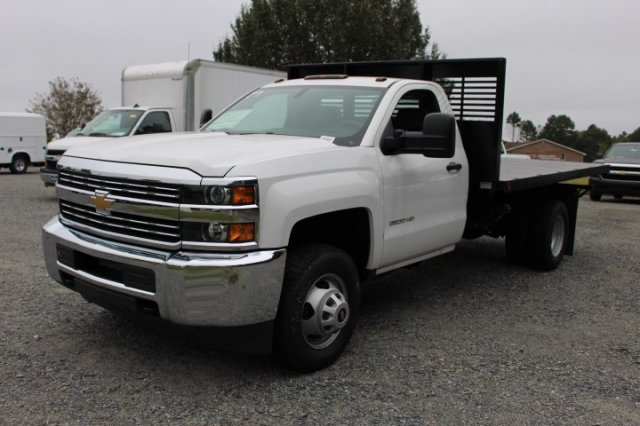 2018 Silverado 3500 Regular Cab DRW 4x2,  Commercial Truck & Van Equipment Platform Body #M271767 - photo 3