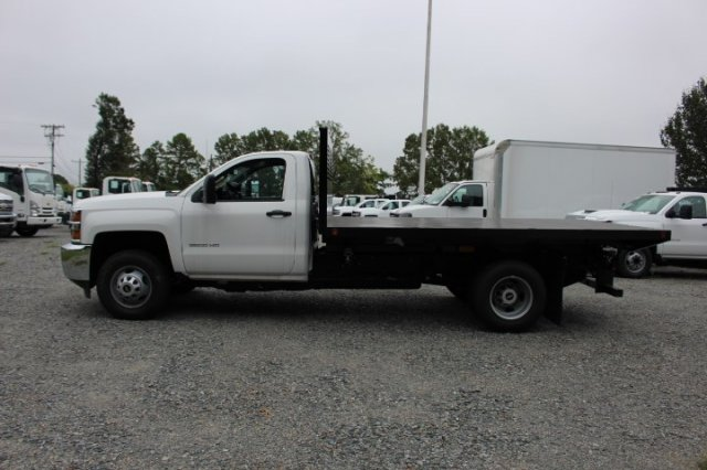2018 Silverado 3500 Regular Cab DRW 4x2,  Commercial Truck & Van Equipment Platform Body #M271767 - photo 4