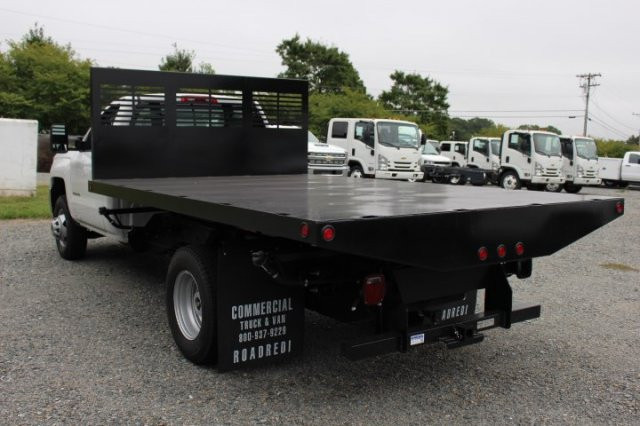 2018 Silverado 3500 Regular Cab DRW 4x2,  Commercial Truck & Van Equipment Platform Body #M271767 - photo 5
