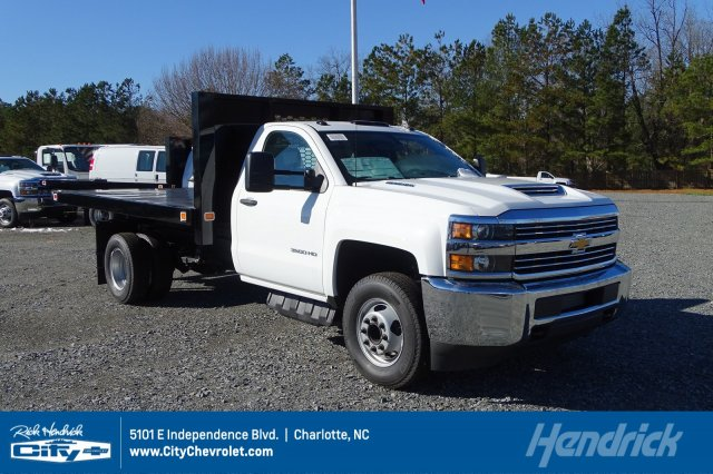 2018 Silverado 3500 Regular Cab DRW 4x2,  Knapheide Platform Body #M272826 - photo 1