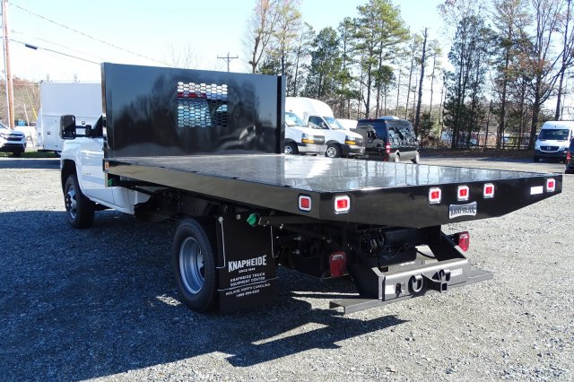 2018 Silverado 3500 Regular Cab DRW 4x2,  Knapheide Platform Body #M272826 - photo 5