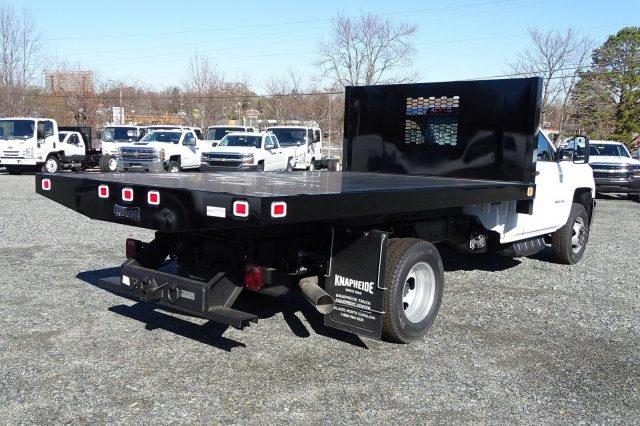 2018 Silverado 3500 Regular Cab DRW 4x2,  Knapheide Platform Body #M272826 - photo 2