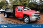 2018 Silverado 3500 Regular Cab DRW 4x2,  Knapheide Platform Body #M277125 - photo 1