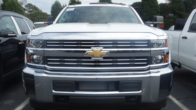 2016 Silverado 3500 Crew Cab 4x4, Freedom Platform Body #M284086 - photo 6