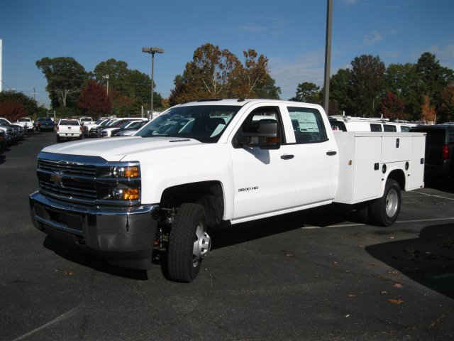 2016 Silverado 3500 Crew Cab 4x4, Knapheide Service Body #M284859 - photo 7