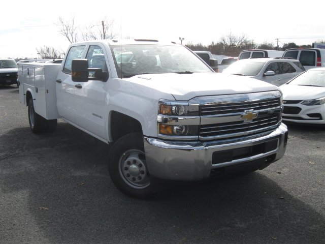 2016 Silverado 3500 Crew Cab 4x4, Knapheide Service Body #M285173 - photo 3