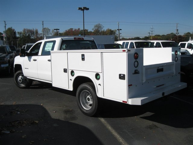 2016 Silverado 3500 Crew Cab 4x4, Knapheide Service Body #M286872 - photo 2