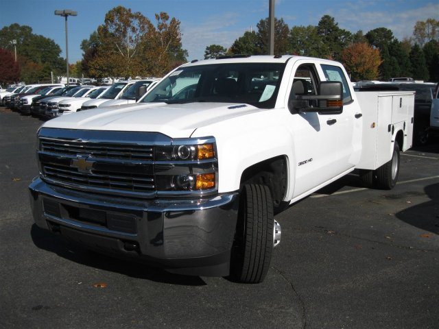 2016 Silverado 3500 Crew Cab 4x4, Knapheide Service Body #M286872 - photo 6