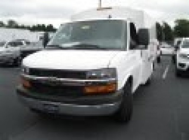 2016 Express 3500, Knapheide Service Utility Van #M322662 - photo 9