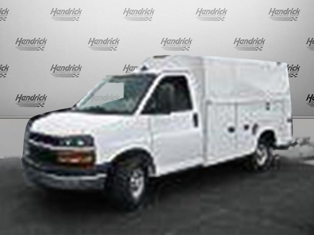 2016 Express 3500, Knapheide Service Utility Van #M322662 - photo 4