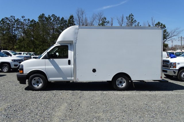 2018 Express 3500 4x2,  Supreme Spartan Cargo Cutaway Van #M337056 - photo 4