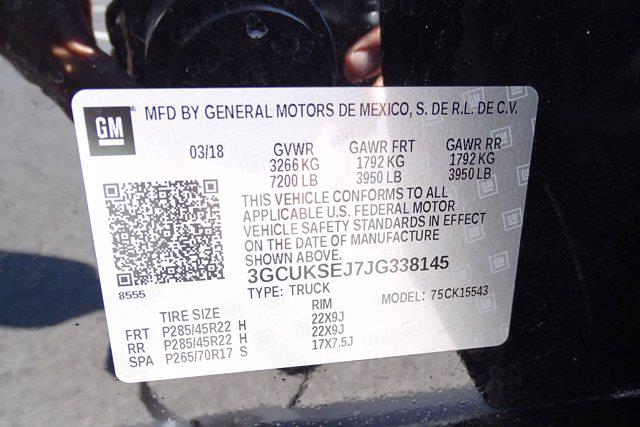 2018 Chevrolet Silverado 1500 Crew Cab 4x4, Pickup #M36333A - photo 43