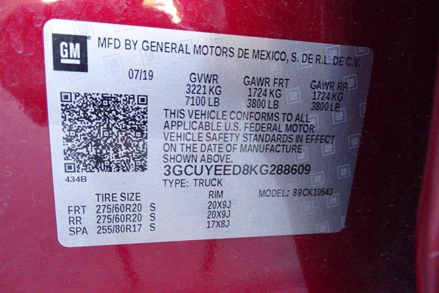 2019 Chevrolet Silverado 1500 Crew Cab 4x4, Pickup #M38570B - photo 42
