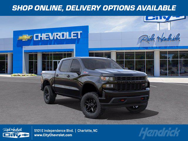 2021 Chevrolet Silverado 1500 Crew Cab 4x4, Pickup #M49824 - photo 1