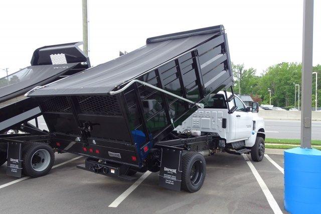 2020 Chevrolet Silverado 5500 Regular Cab DRW 4x4, Knapheide Landscape Dump #M590188 - photo 1