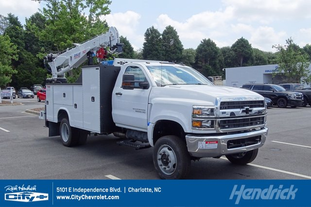 2020 Chevrolet Silverado 5500 Regular Cab DRW 4x4, Knapheide Mechanics Body #M660103 - photo 1