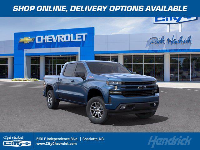 2021 Chevrolet Silverado 1500 Crew Cab 4x4, Pickup #M75875 - photo 1
