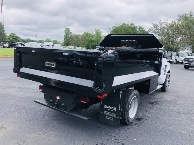 2019 Silverado Medium Duty DRW 4x2,  Knapheide Drop Side Dump Body #M805266 - photo 2