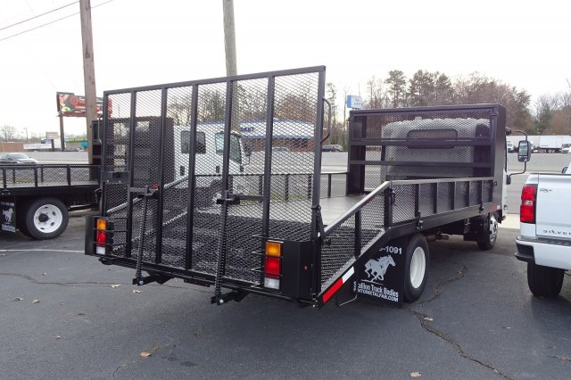 2018 LCF 3500 Regular Cab 4x2,  Pinto Metal Fabrication Dovetail Landscape #M805546 - photo 2