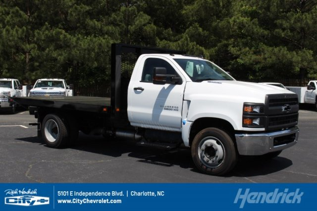2019 Silverado Medium Duty DRW 4x2,  Knapheide Platform Body #M811245 - photo 1