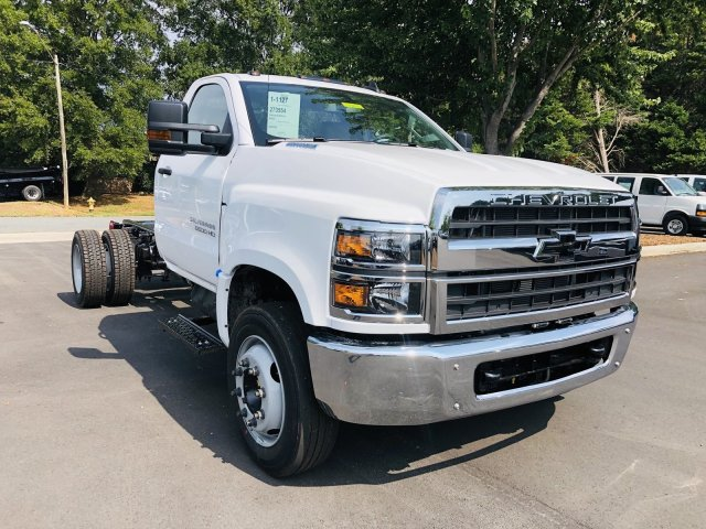2019 Chevrolet Silverado 4500 Regular Cab DRW 4x2,  Knapheide Platform Body #M885197 - photo 1