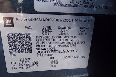 2020 Chevrolet Silverado 1500 Crew Cab 4x4, Pickup #PS15944 - photo 43
