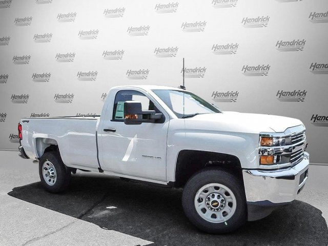 2017 Silverado 3500 Regular Cab 4x4 Pickup #T277006 - photo 6
