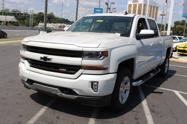 2018 Silverado 1500 Crew Cab 4x4,  Pickup #T472325 - photo 4