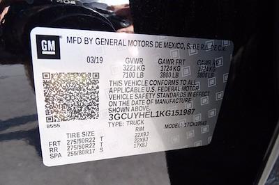 2019 Chevrolet Silverado 1500 Crew Cab 4x4, Pickup #XH15979A - photo 42