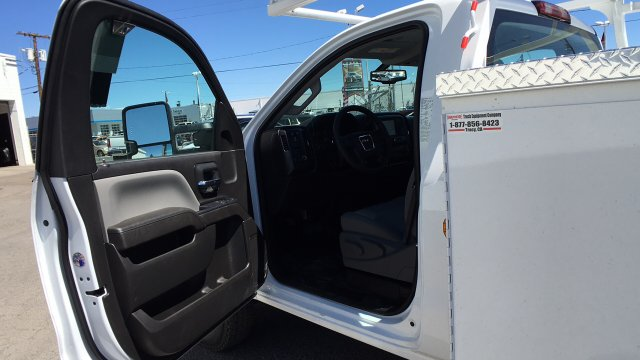 2017 Sierra 3500 Regular Cab DRW 4x2,  Knapheide Service Body #HF187467 - photo 13