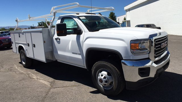 2017 Sierra 3500 Regular Cab DRW 4x2,  Knapheide Service Body #HF187467 - photo 3