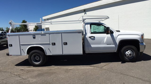 2017 Sierra 3500 Regular Cab DRW 4x2,  Knapheide Service Body #HF187467 - photo 4