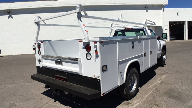 2017 Sierra 3500 Regular Cab DRW 4x2,  Knapheide Service Body #HF187467 - photo 5