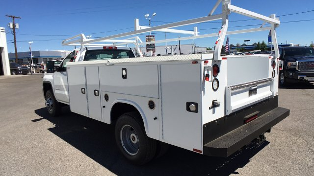2017 Sierra 3500 Regular Cab DRW 4x2,  Knapheide Service Body #HF187467 - photo 2