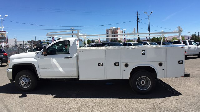 2017 Sierra 3500 Regular Cab DRW 4x2,  Knapheide Service Body #HF187467 - photo 7