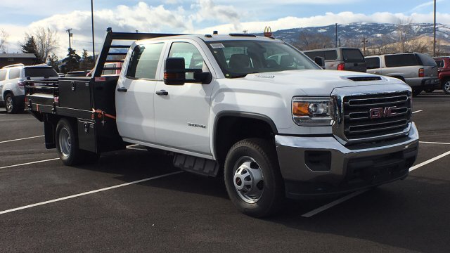 2017 Sierra 3500 Crew Cab DRW, Freedom Contractor Body #HF216002 - photo 3