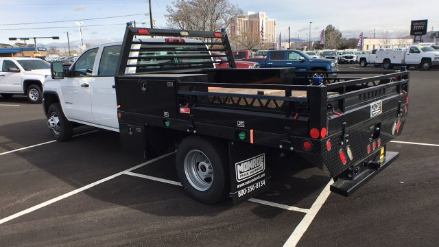 2017 Sierra 3500 Crew Cab DRW, Freedom Contractor Body #HF216002 - photo 2