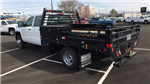 2017 Sierra 3500 Crew Cab DRW, Freedom Contractor Body #HF216002 - photo 1