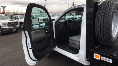 2017 Sierra 3500 Regular Cab DRW 4x4, Knapheide Value-Master X Platform Body #HF239529 - photo 11