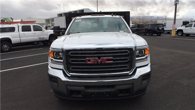 2017 Sierra 3500 Regular Cab DRW 4x4, Knapheide Value-Master X Platform Body #HF239529 - photo 8