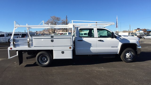 2017 Sierra 3500 Crew Cab DRW 4x4 Contractor Body #HF242874 - photo 4