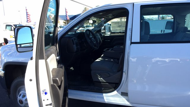 2017 Sierra 3500 Crew Cab DRW 4x4 Contractor Body #HF242874 - photo 29