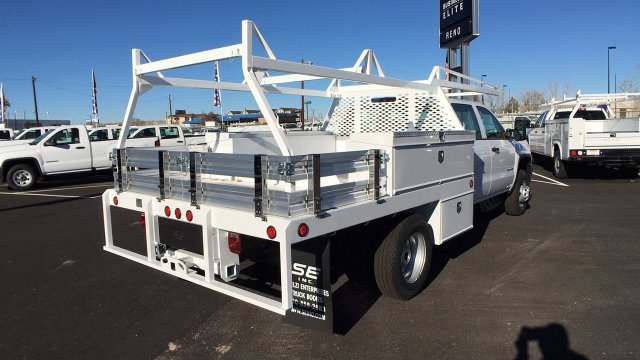 2017 Sierra 3500 Crew Cab DRW 4x4 Contractor Body #HF242874 - photo 5