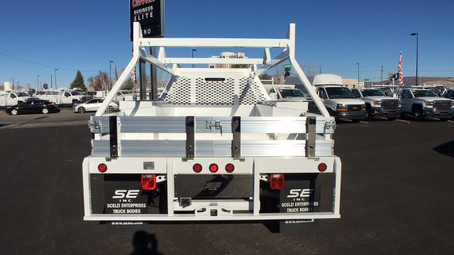 2017 Sierra 3500 Crew Cab DRW 4x4 Contractor Body #HF242874 - photo 6