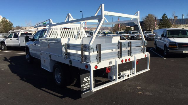 2017 Sierra 3500 Crew Cab DRW 4x4 Contractor Body #HF242874 - photo 2
