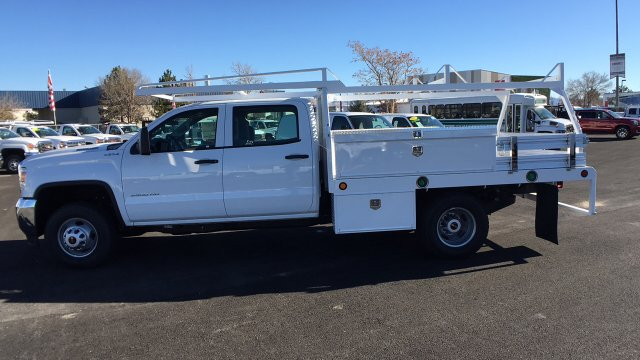 2017 Sierra 3500 Crew Cab DRW 4x4 Contractor Body #HF242874 - photo 7