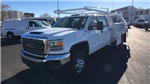 2017 Sierra 3500 Crew Cab DRW 4x4 Contractor Body #HF242874 - photo 1